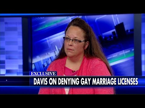 Kim Davis on 'The Kelly File': 'It's Never Been a Gay or Lesbian Issue for Me'
