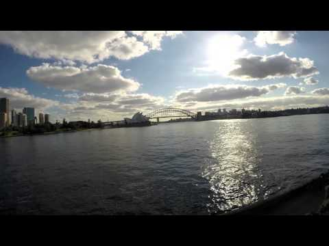 Opera Sydney time laps