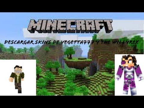 Como Descargar El Skin De TheWillyrex Y Vegetta Minecraft PE - Skin para minecraft pe vegetta777