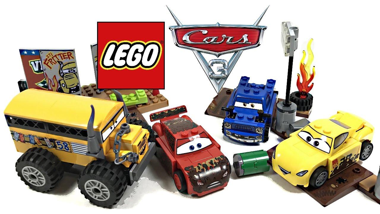 Lego Cars 3 Thunder Hollow Crazy 8 Race Review 2017 Set 10744