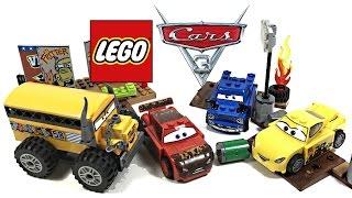 LEGO Cars 3 Thunder Hollow Crazy 8 Race review! 2017 set 10744!