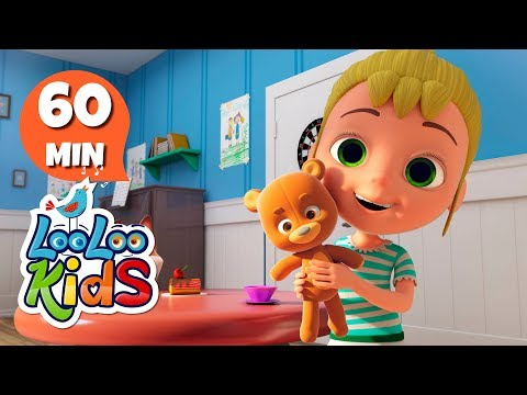 Teddy Bear - Learn English with Songs for Children | LooLoo Kids