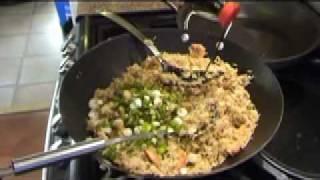 Nasi Goreng: Classic Asian Rice And Prawns Plus Chicken & Satay Sauce, Pt 2