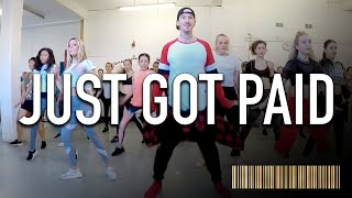 JUST GOT PAID by Sigala ft Ella Eyre, Meghan Trainor & French Montana |  Dance CHOREOGRAPHY Video