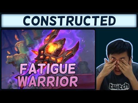 [Hearthstone] Karazhan Fatigue Warrior #1: Mill-king it