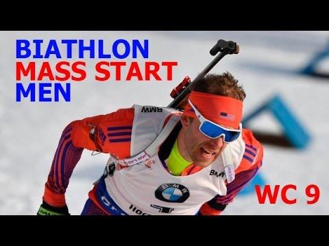 BIATHLON MEN MASS START 19.03.2017 World Cup 9 Holmenkollen (Norway)