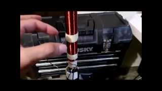 HF antenna multiband 80m - 10m swr adjustable