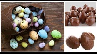 Шоколадные яйца пасхальные поделки Простой недорогой рецепт