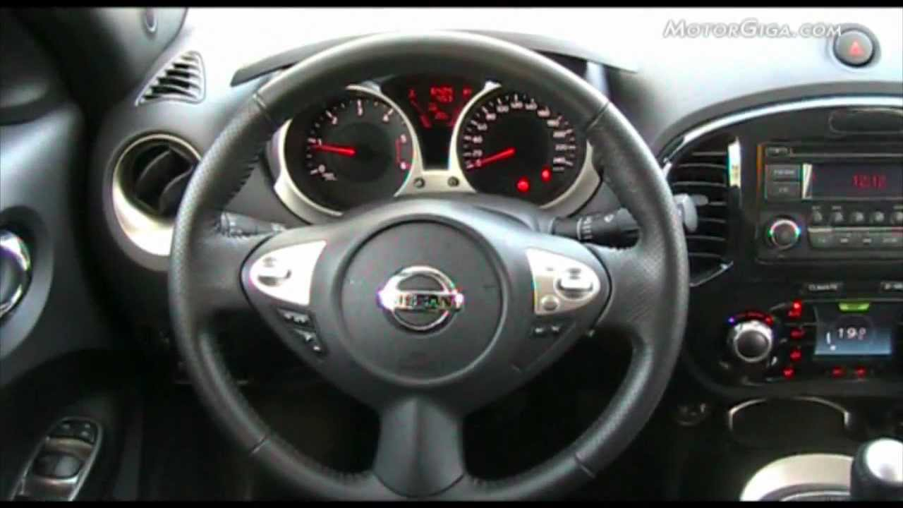 An 225 Lisis Nissan Juke Interiores Youtube