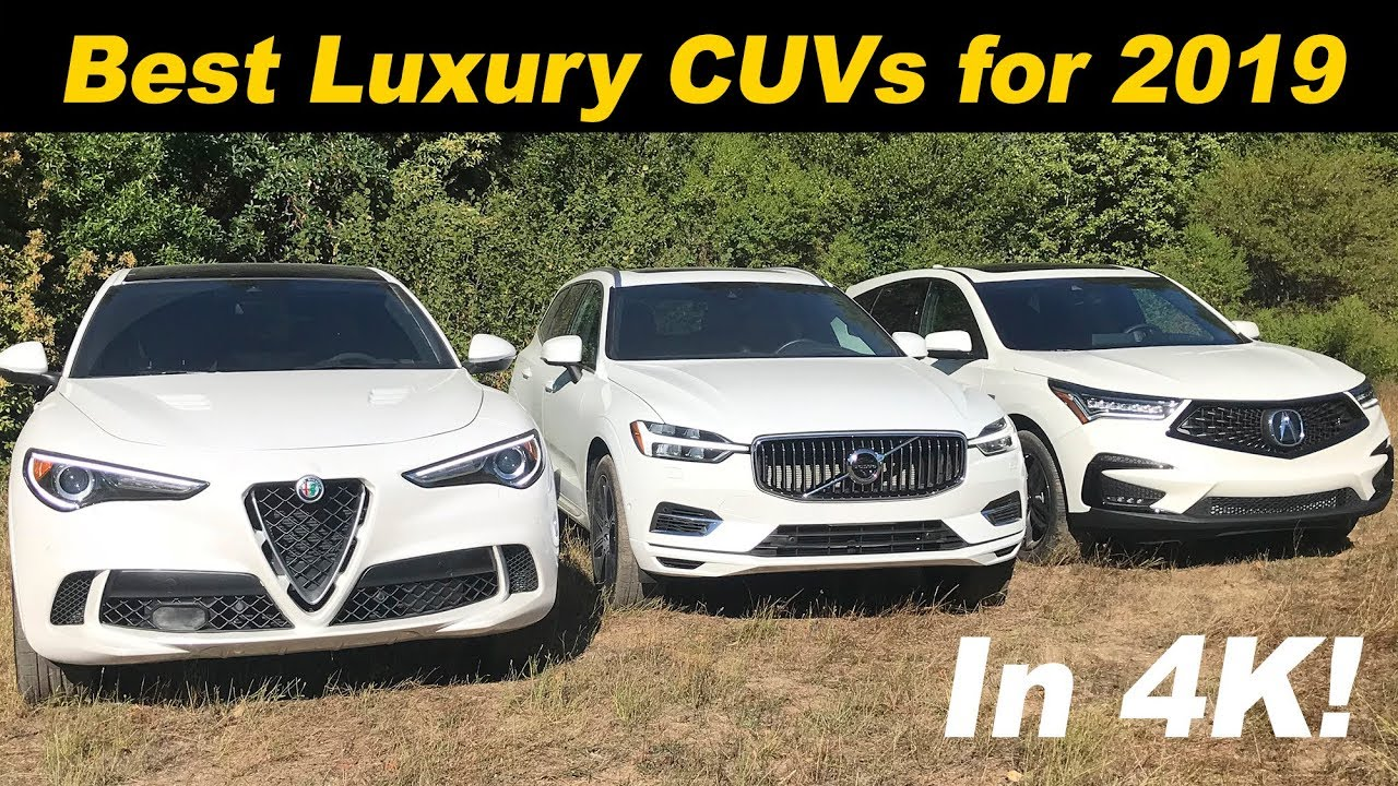 The Best Luxury Crossovers In America For 2019 - YouTube