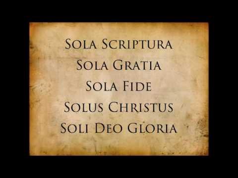 5 solas of the reformation - [Dr Steven J Lawson]