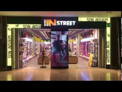 Sport In Street LED Ekran Projesi TÜRKİYE