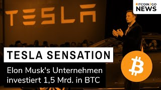 BREAKING: TESLA KAUFT BITCOIN FÜR 1,5 MRD. USD!