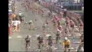 1991 Tour De France Abdu Crash!!