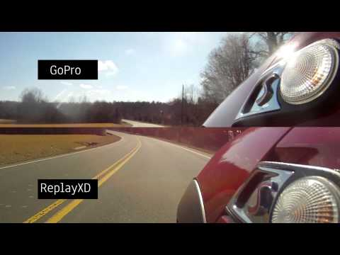 Camera Comparison - ReplayXD 1080 v GoPro Hero 1080