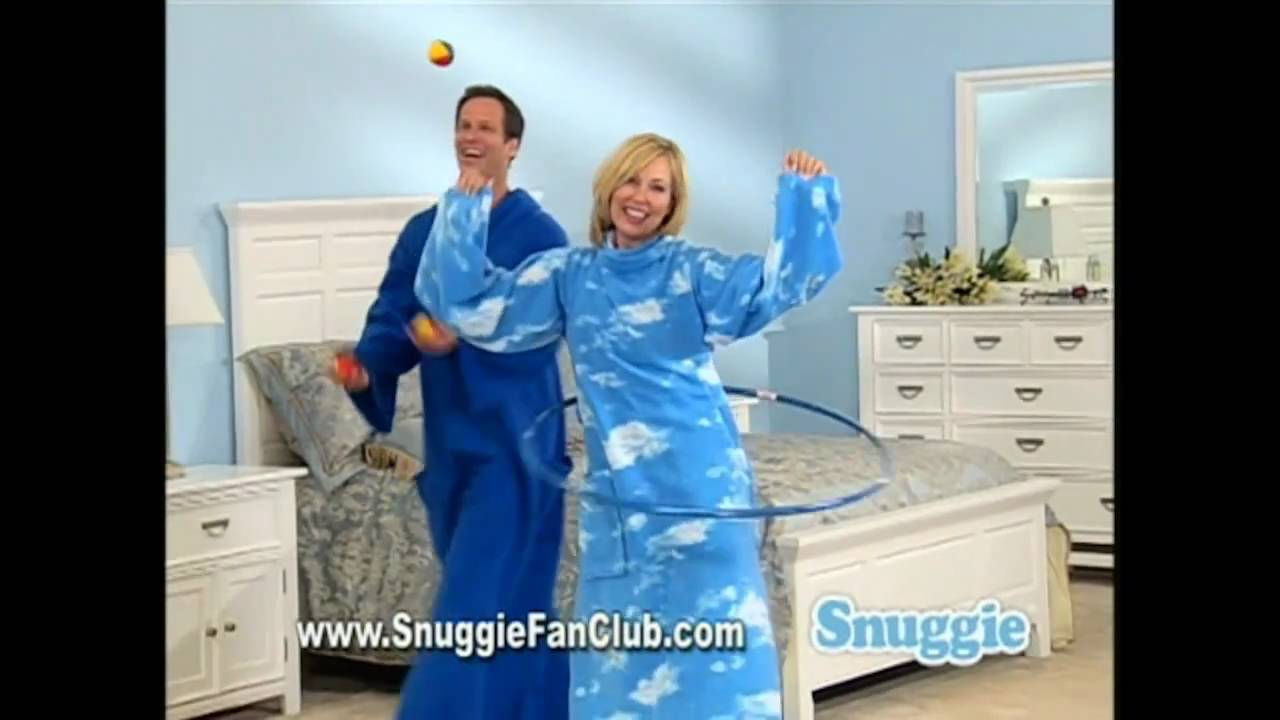New Snuggie Commercial Macarena Song Parody - YouTube