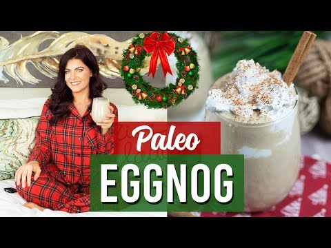 How to Make Eggnog (Dairy Free, Paleo, Gluten Free) | Healthy Holiday Recipes