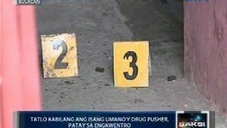 3 kabilang ang isang umano'y drug pusher, patay sa engkwentro sa San Jose del Monte, Bulacan