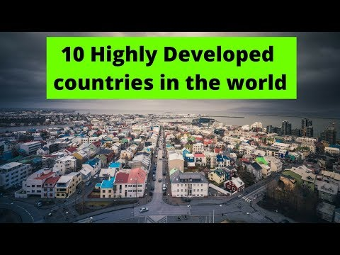 10 highly developed countries in the world