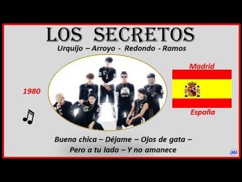 Los Secretos (1980)Madrid(España)Música: Buena Chica-Déjame-Ojos De Gata-Pero A Tu Lado-Y No Amanece