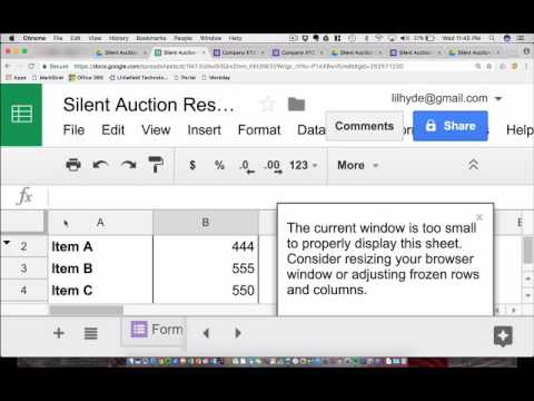 Free Silent Auction Bidding Solution