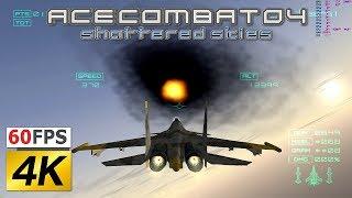 PS2 Ace Combat 4 PC 4k 60fps PCSX2 emulator AC4