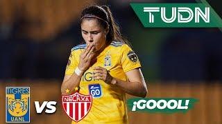 ¡Gol de Jacqueline Ovalle! | Tigres 1 - 0 Necaxa | Liga MX Femenil - J 14 - AP 2019 | TUDN