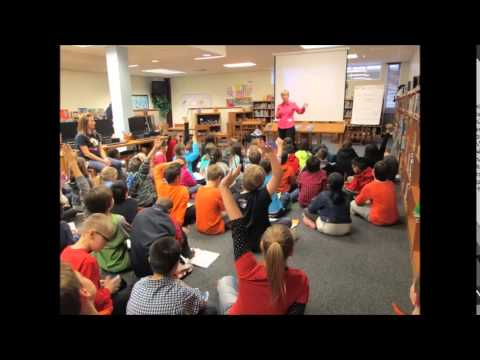 Author Polly Holyoke Visits Forest North!