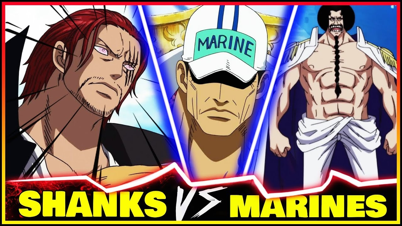 What If Sengoku Continued The MARINEFORD War vs SHANKS | One Piece  Discussion