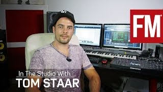 Tom Staar In The Studio With Future Music