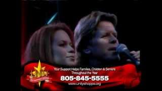 Peter Noone & Natalie Noone - The Angels Are Crying In Heaven Tonight - Unity Telethon
