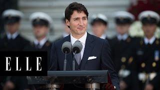 Justin Trudeau is Our New Political Crush | ELLE