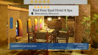 Marrakech Holidays | Luxury Bed & Breakfast Marrakech Holidays | Super Escapes Travel