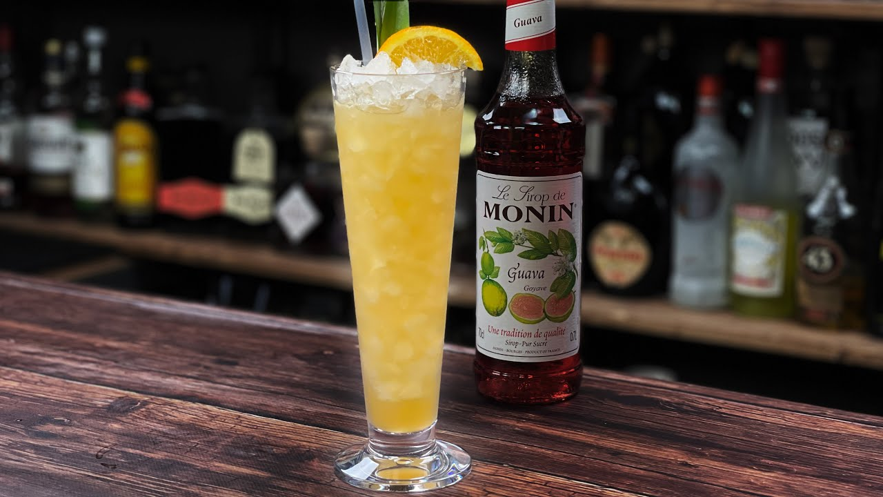 Guava Cocktail Recipes! A Tasty Tropical Tiki Cocktail