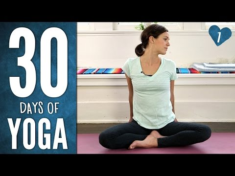 Day 1 - Ease Into It - 30 Days of Yoga thumbnail