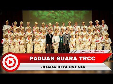 Bawakan Lagu Tradisional Bali, Paduan Suara The Resonanz Children's Choir Juara di Eropa