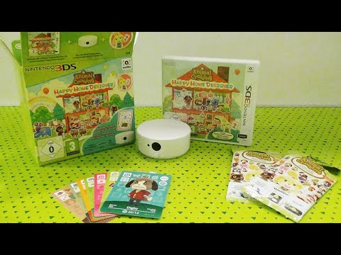 ANIMAL CROSSING : HAPPY HOME DESIGNER - UNBOXING