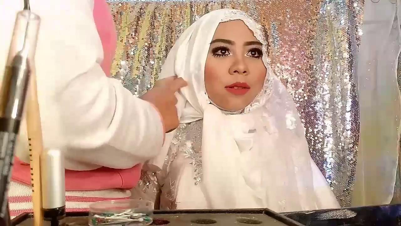 Tutorial Hijab Syari For Wedding YouTube