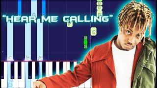 Juice WRLD - Hear Me Calling Piano Tutorial EASY (Piano Cover)
