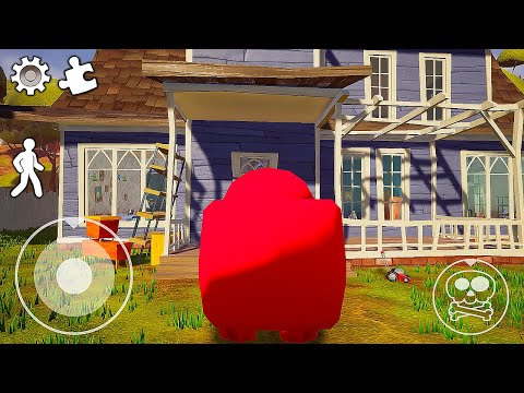 Funny moments in Hello Neighbor    Experiments with Neighbor 03  