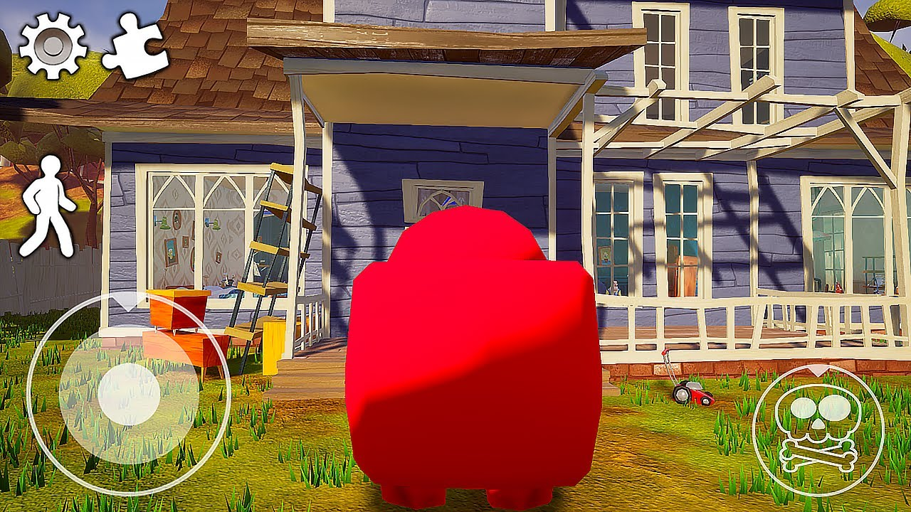Download Funny moments in Hello Neighbor || Experiments with Neighbor 03