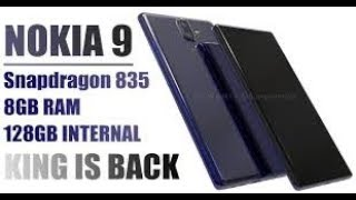 Nokia 9 Price , Specification, Features, Release Date