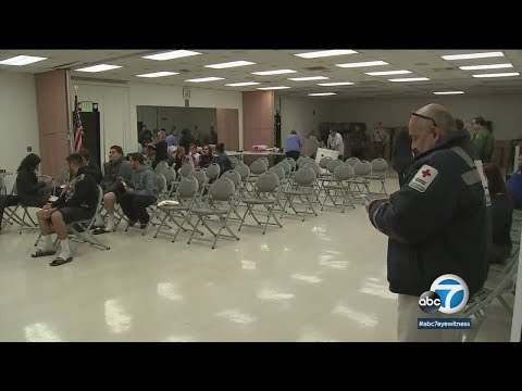 Residents displaced by Pico Rivera fire get help at nearby shelter | ABC7