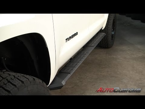 Iron Cross Stealth Running Board Review Video - AutoCustoms.com