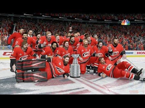 NHL 18 - Carolina Hurricanes Stanley Cup Celebration