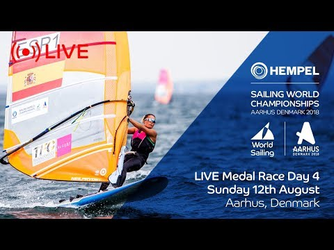 LIVE Sailing  Hempel Sailing World Championships  Medal Race Day 4