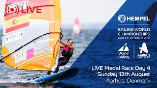LIVE Sailing | Hempel Sailing World Championships | Medal Race Day 4