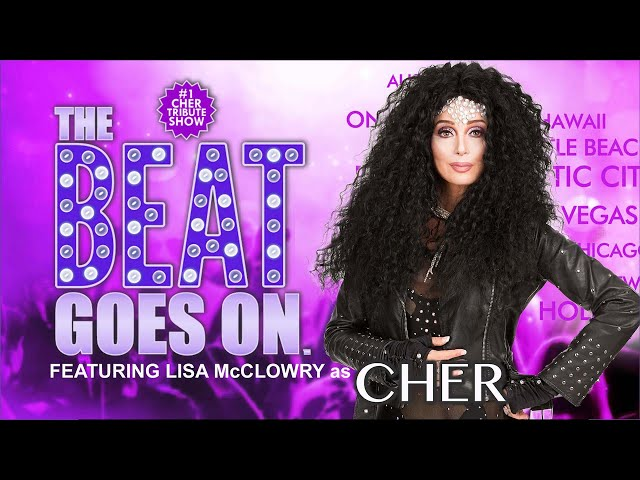 Beat Goes On - Intro to Lisa McClowry as CHER