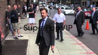 Jason Sudeikis at the 'Late Show with David Letterman' st...