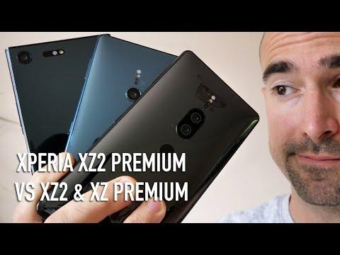 Xperia XZ2 Premium Vs XZ Premium Vs XZ2 | Which Sony Is Best?